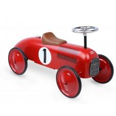 Passejador gran cotxe vermell metall
