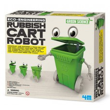 Robot contenidor amb motor per muntar