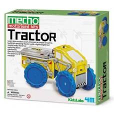Muntar tractor amb motor